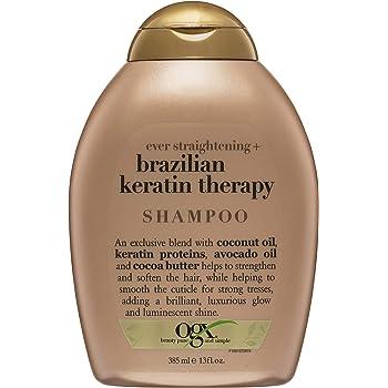 Organix Ever Straightening Brazilian Keratin Therapy Shampoo, 13 Ounce