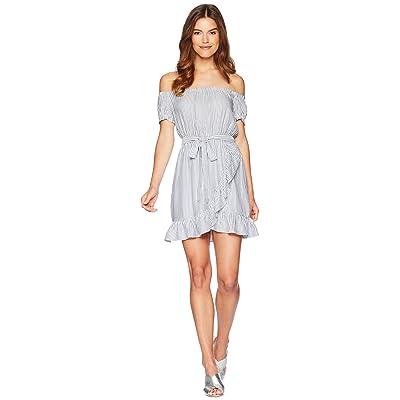 Bardot Bobbi Stripe Dress (Blue/White) Women
