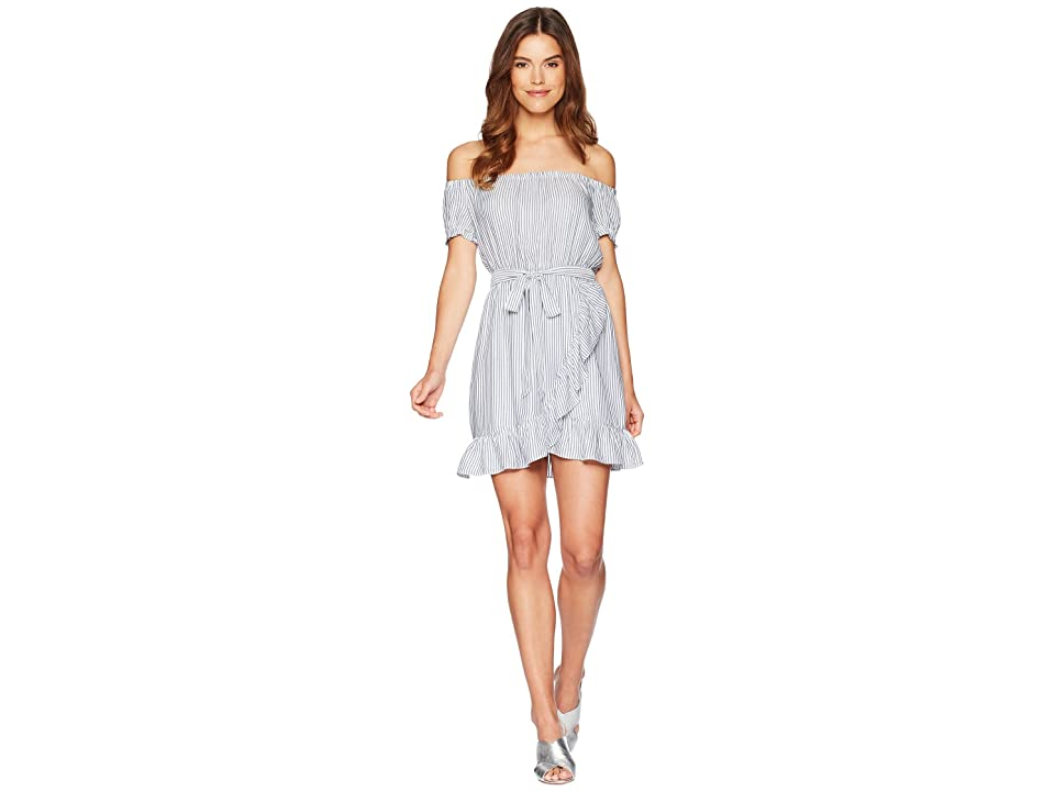 Bardot Bobbi Stripe Dress (Blue/White) Women