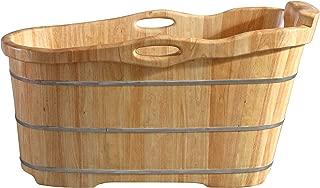 Best rubber wood bathtub Reviews