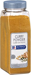 McCormick Culinary Curry Powder, 16 oz - One 16 Ounce Container of Curry Powder Spice Blend of Coriander, Turmeric, Nutmeg...