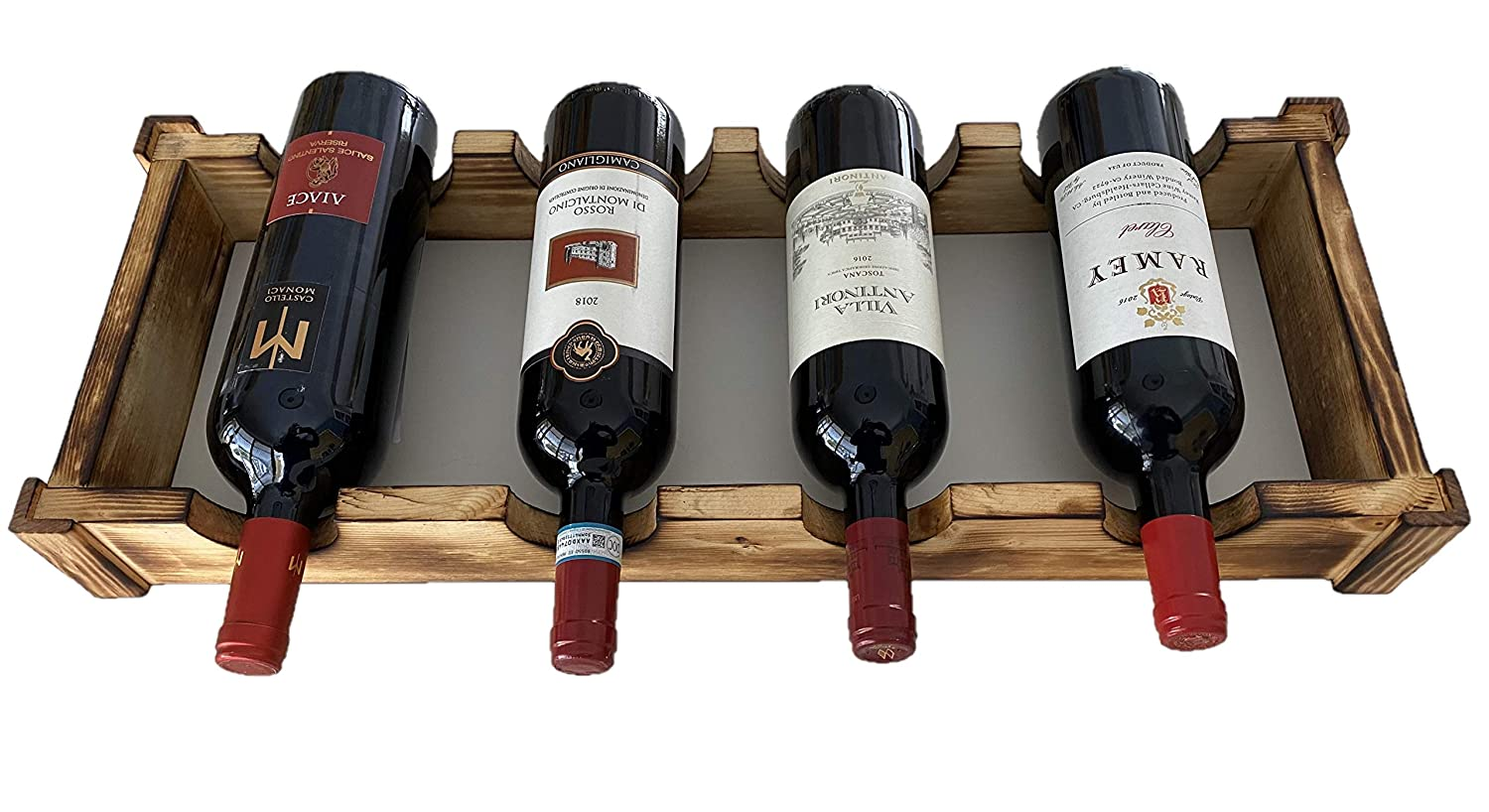 Rare Wine Rack Limited time trial price Countertop Stand Display
