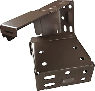 US Window And Floor 816282023350 2 in. Blind Installation Brackets, Chocolate, 2 Pieces Pack