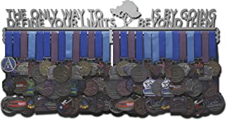 Allied Medal Hangers - The Only Way to Define Your Limits is by Going Beyond Them - Multiple Size Options Available! Medal Hanger Holder Display Rack