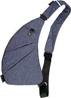TOPNICE Sling Bag Shoulder Chest Crossbody Bags Lightweight Casual Outdoor Sport Travel Hiking Multipurpose Anti Theft Sling Purse Back Pack for Men Women