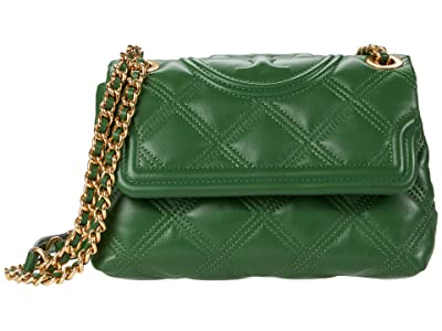 Tory Burch Fleming Soft Small Convertible Shoulder Bag (Arugula) Handbags