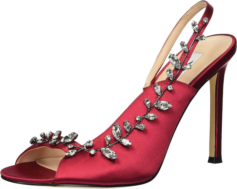 Nina Woherren Deanne Deanne Heeled Sandal, Crimson, 5 M US  die neuesten Modelle