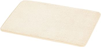 AmazonBasics Small Textured Memory Foam Bath Mat