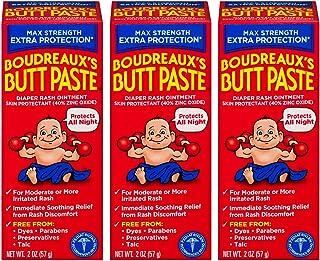 Sponsored Ad - Boudreaux's Butt Paste Maximum Strength Diaper Rash Ointment, 2 oz, 3 Pack