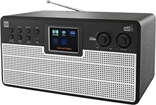 Dual 75831 Radiostation IR 100 - Internet - DAB - FM - Bluetooth - kleurendisplay - AUX - afstandsbediening - stereogeluid