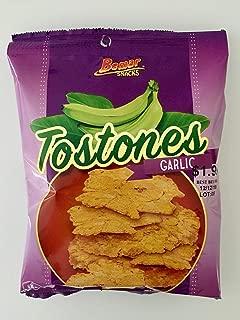 Bemar Snacks Tostones Garlic 24 bags/4oz per bag