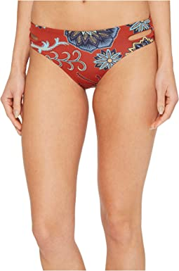 Roxy - Softly Love Print Reversible 70's Bikini Bottom