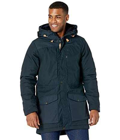 Fjallraven Singi Wool Padded Parka (Dark Navy) Men