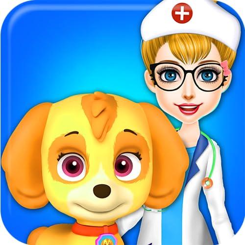 Flauschige Tiere Tierarzt