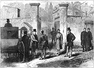 Francois Achille Bazaine N(1811-1888) Marshal Of France The Imprisonment Of Bazaine For Treason At Versailles Wood Engravi...