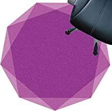 Floor Protector mats Floor Protector for Desks Office and Home Non Slip Carpet Mat Silent Wear-Resistant Easily Clean(Size...