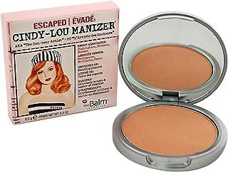 Cindy-Lou Manizer Peachy-Pink Highlighter, Shadow & Shimmer, Subtle Glow, 0.3 Oz