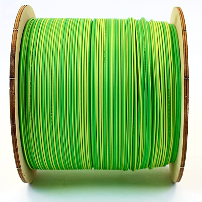 jaune//vert marron neutre Longueur personnalisable. C/âble monoconducteur 6491X de 2,5/mm Bleu C/âble terre