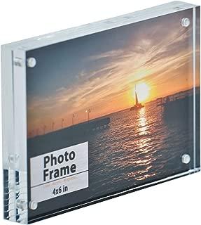 Nicom Clear Acrylic Magnet Frame (1, 4x6)