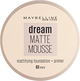 Maybelline New York Dream Matte Mousse Foundation Ivory 10