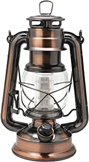 فانوس طوفان فلزی 12-LED YAKii Vintage Style