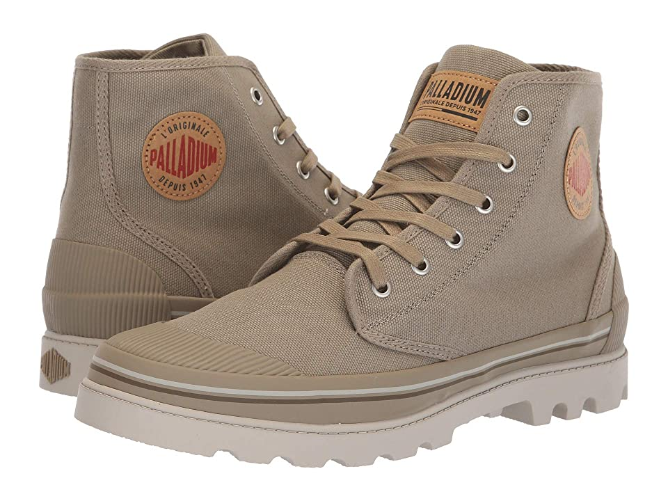 Palladium Pampa Panam (Dune/Feather Gray/Shitake) Men