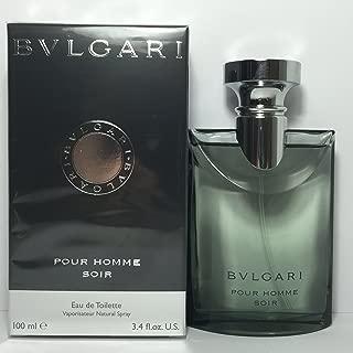 BVLGARI Pour Homme Soir Eau De Toilette Spray, 100 ml