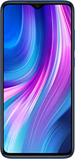 "Xiaomi Redmi Note 8 Pro (128GB, 6GB) 6.53"", Quad Camera, Helio G90T Gaming Processor, Dual SIM GSM Unlocked - US & Global 4G LTE International Version (Ocean Blue, 128GB + 64GB SD + Case Bundle)"