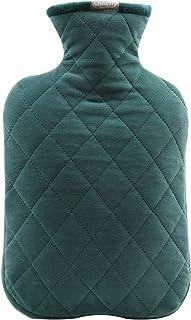 Sponsored Ad - Samply Hot Water Bottle- 2 Liter Hot Water Bag with Crystal Velvet Cover,Green
