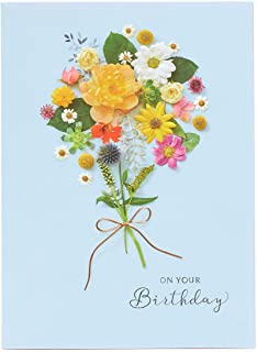 UK Greetings Birthday Card for Her - Female Birthday Card - Pretty Floral Design, 601354