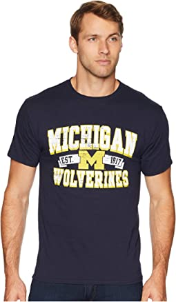 Michigan Wolverines Jersey Tee