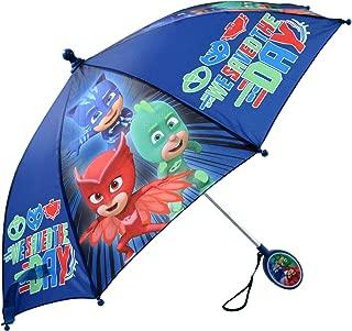 Boys' Little Assorted Character Rainwear Umbrella, Blue, Age 3-7