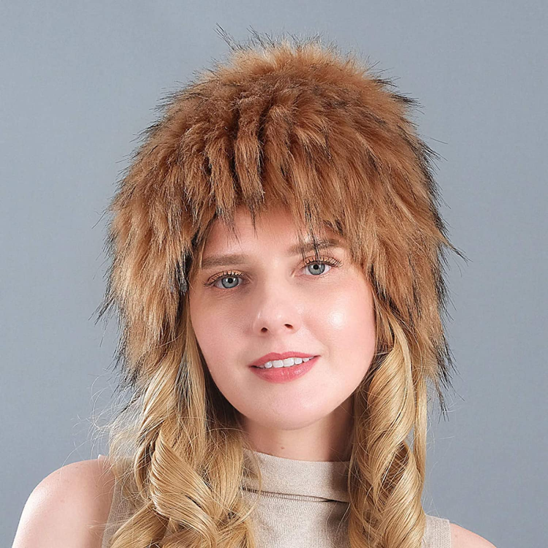 BELEMON Minneapolis Mall Women Winter Hat Thick cheap Warm Ladies Faux Earf Fur Ski