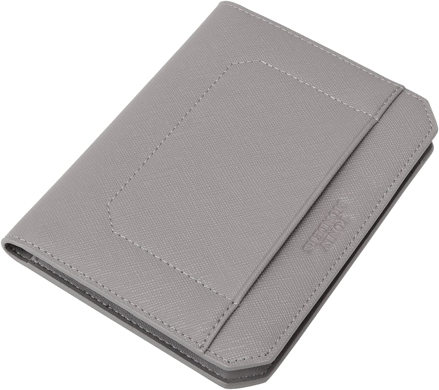 Tonly Monders Leather Passport Holder Cover RFID Blocking Portable Travel Wallet Case