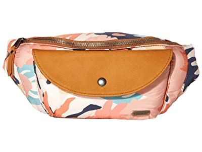 Roxy Stay Curious Fanny Pack (Peach Blush Bright Skies) Bags