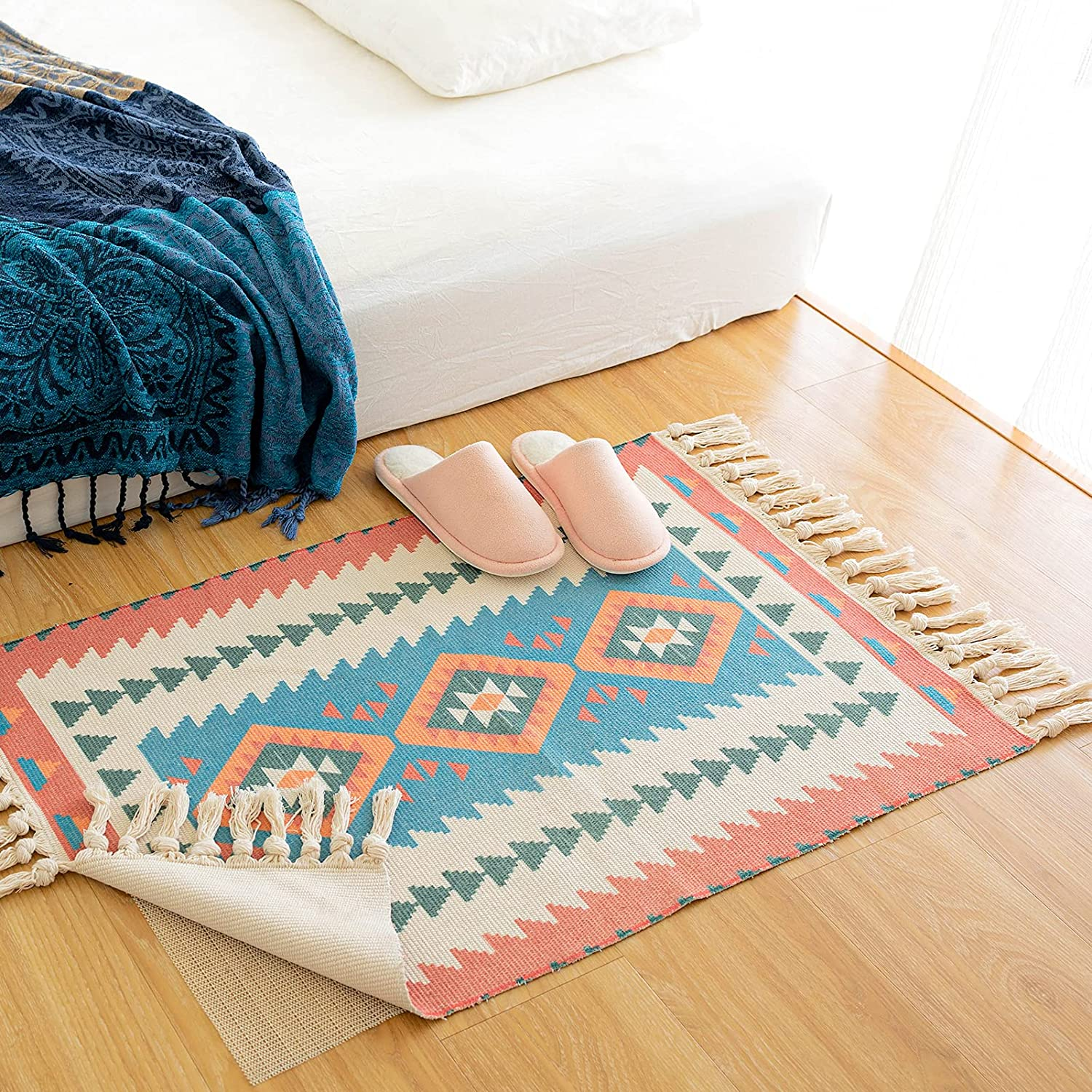 Boho Bedroom Area Rug 2'x5' Rugs Kitchen Ranking TOP2 with Moroccan Wholesale Non-Slip