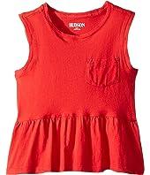 Flounce Pocket Tank Top (Toddler/Little Kids)