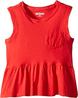 Hudson Kids - Flounce Pocket Tank Top (Toddler/Little Kids)