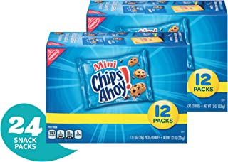 Chips Ahoy! Mini Chocolate Chip Cookies Snack Pack - 24 Individual Snack Pack