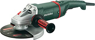 Metabo W24-180 8,500 RPM 15.0 AMP 7-Inch Angle Grinder