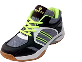 ZEEFOX Flick Men's (Non-Marking) PU Badminton Shoes