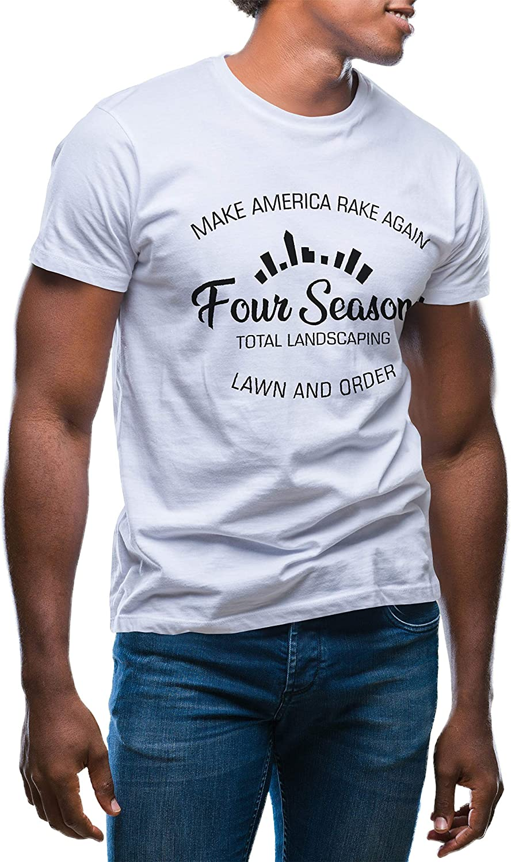 GR8Shop Four Season Total Landscaping Trump Dumb T-Shirt pour Les Hommes