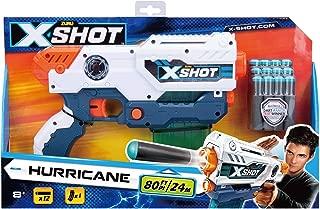 Zuru X Shot Hurricane Clip Blaster With 12 foam Darts (3693)