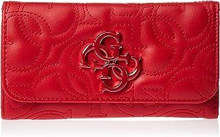 GUESS Women's Kamryn Slg Slim Clutch, Red - QQ669151