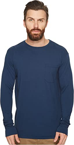 Richer Poorer - Long Sleeve Crew Pocket Tee