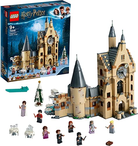 LEGO Harry Potter and The Goblet of Fire Hogwarts Clock Tower 75948 Building Kit, Toy for 8+ Year Old Boys and Girls,...