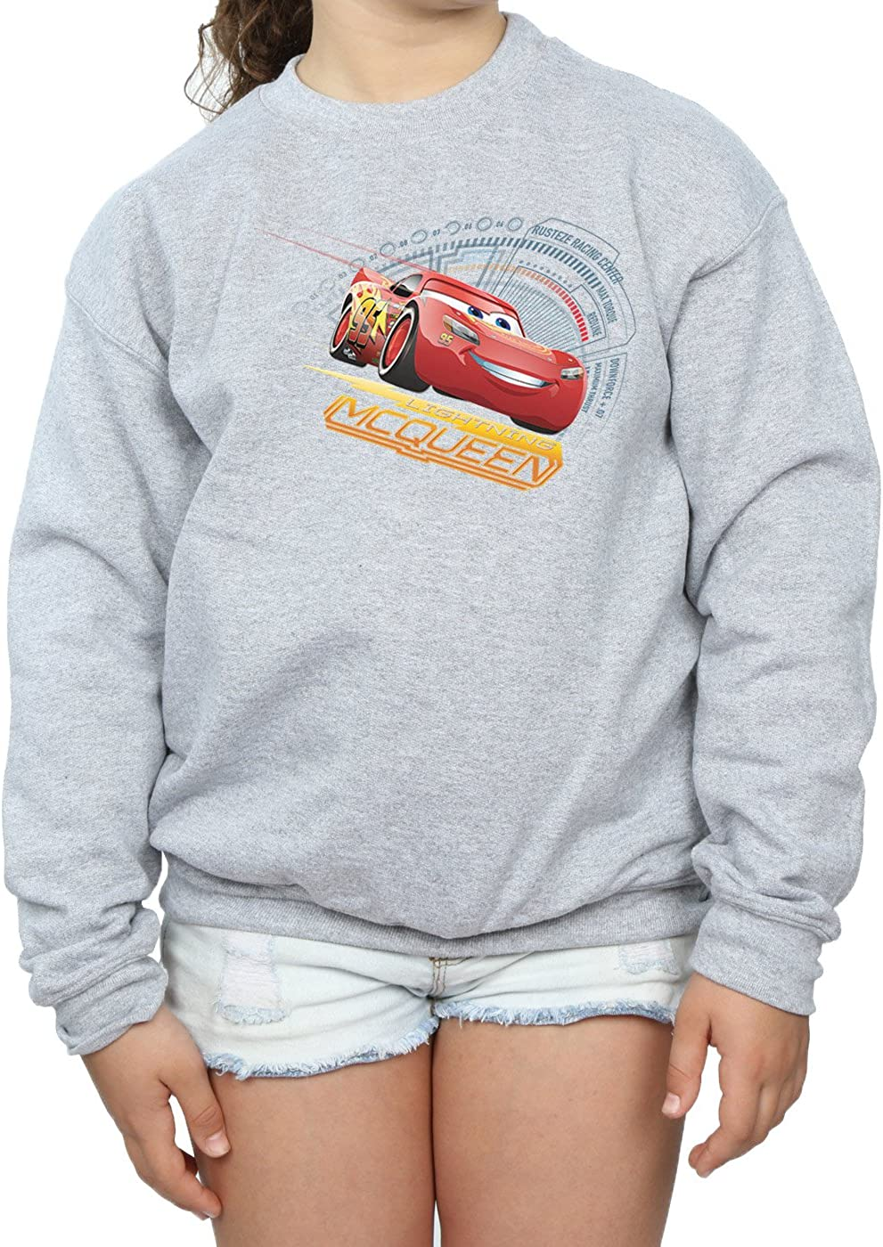 Disney Girls Cars Lightning McQueen Sweatshirt