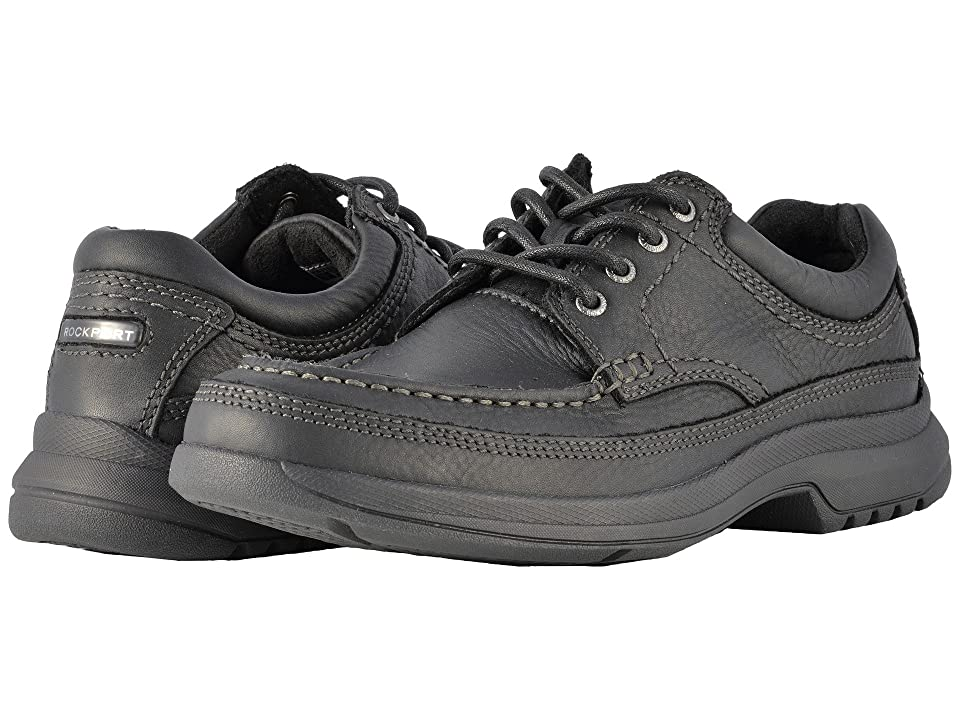 Rockport Barrow Loft Banni (Black Leather) Men