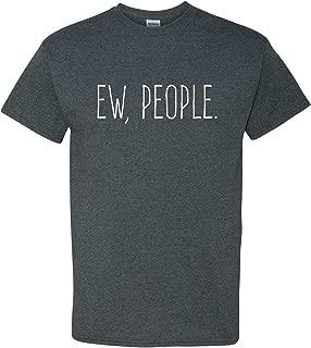 UGP Campus Apparel Ew People Funny Basic Cotton T-Shirt