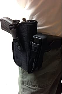 Shaver products Belt Side Gun Holster Fits HI Point 45 ACP, 40 SW-B